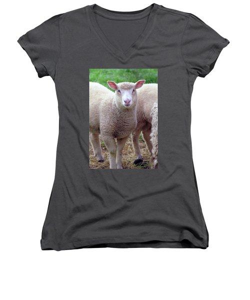 Lamb Women's V-Neck (Athletic Fit)