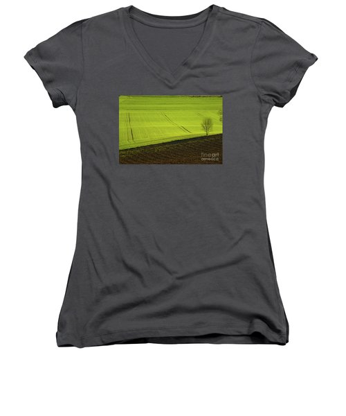 Landscape 4 Women's V-Neck