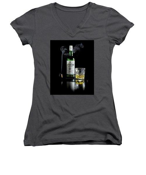 Whiskey And Smoke Women's V-Neck