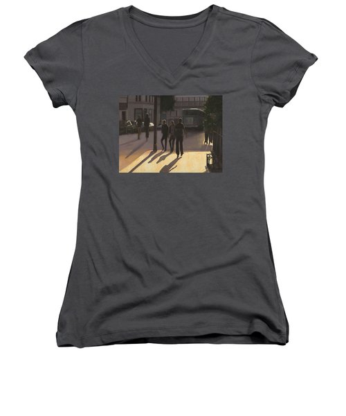 Latin Quarter Women's V-Neck (Athletic Fit)