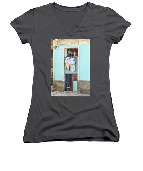 Laundry Day Women's V-Neck (Athletic Fit)