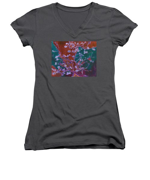 Layered 2 Van Gogh Women's V-Neck T-Shirt