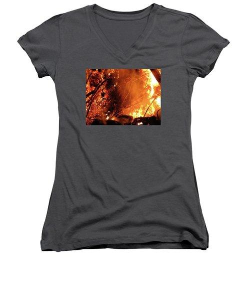 Layers Below Women's V-Neck T-Shirt