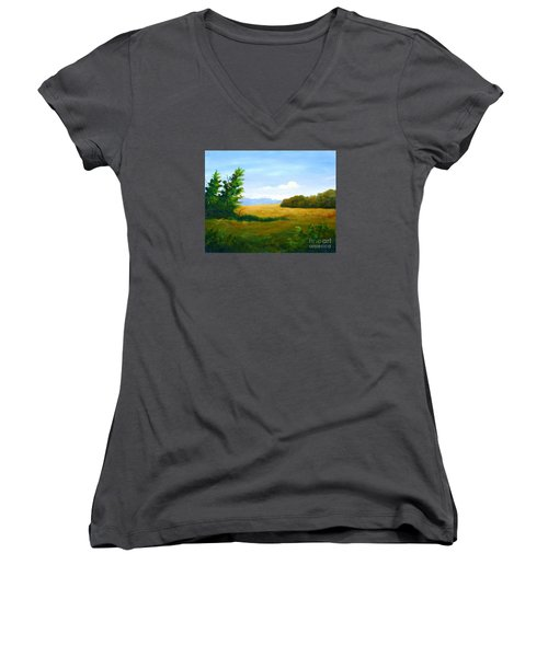 Lazy Afternoon Women's V-Neck T-Shirt