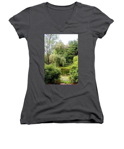 Lazy Pond Women's V-Neck T-Shirt