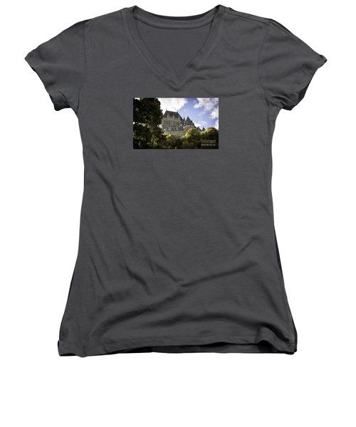 Le Chateau #2 Women's V-Neck T-Shirt
