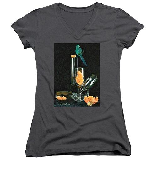 Le Perroquet Vert Women's V-Neck