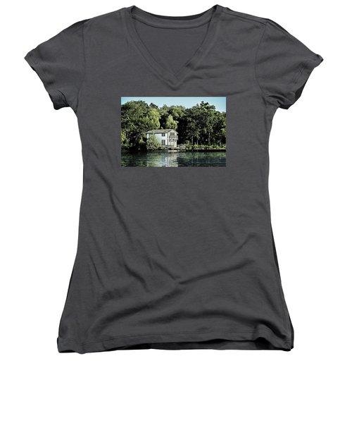 Leacock Boathouse Women's V-Neck T-Shirt