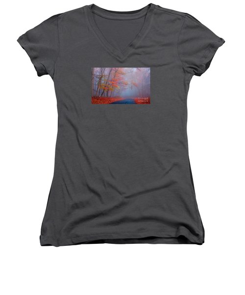 Journey Women's V-Neck T-Shirt