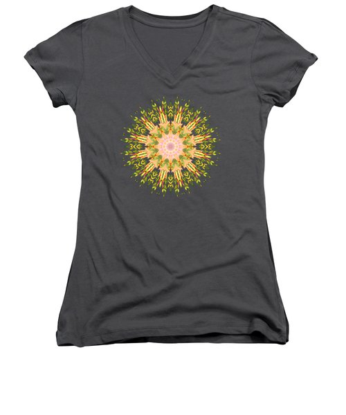 Leaf Nouveau Women's V-Neck T-Shirt