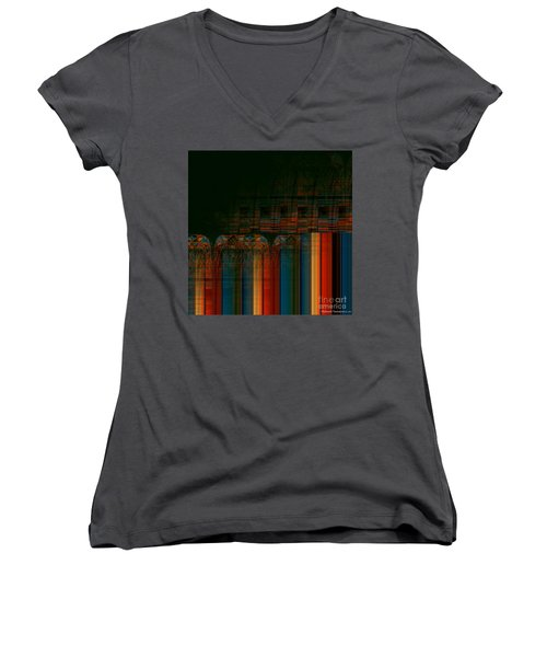 Leaving Darkness Women's V-Neck T-Shirt