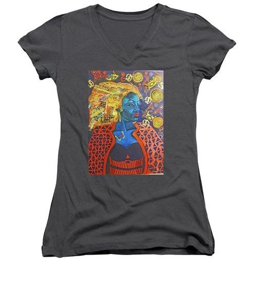 Legendary Self Women's V-Neck T-Shirt