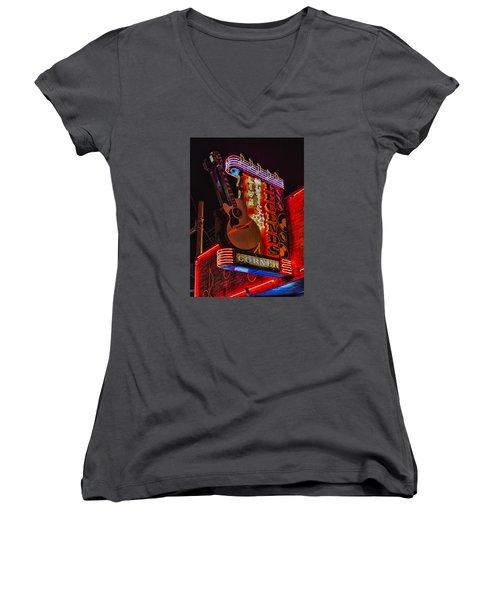 Legends Corner Nashville Women's V-Neck T-Shirt