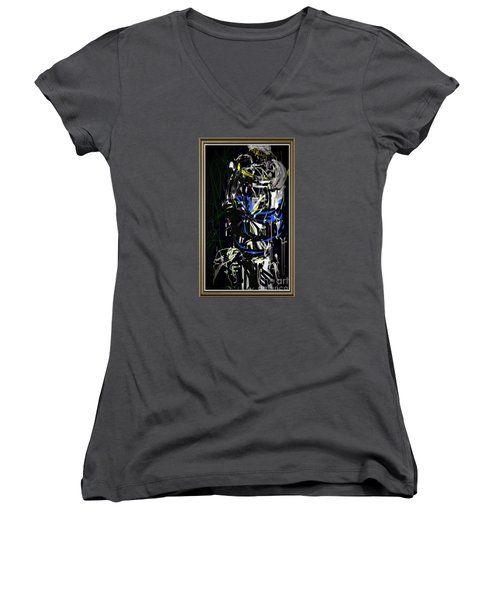 Let Love Be No Illusion Women's V-Neck (Athletic Fit)