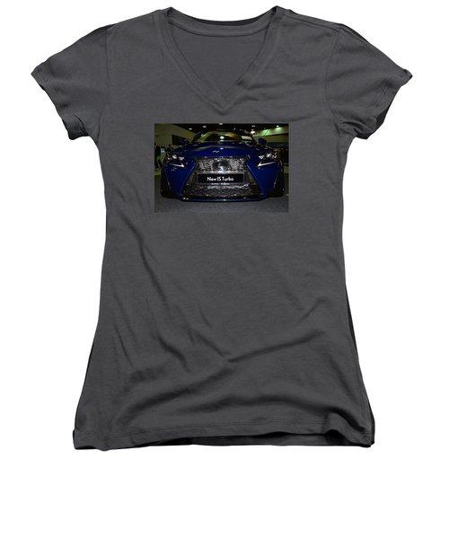 Lexus Is Turbo Women's V-Neck T-Shirt
