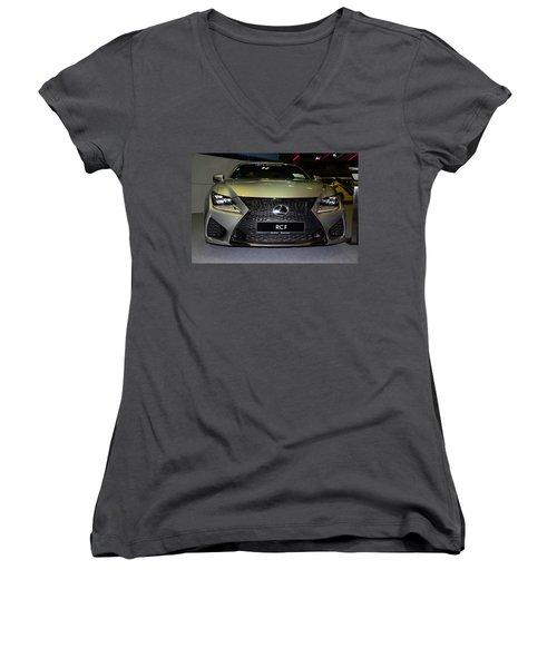 Lexus Rcf Women's V-Neck (Athletic Fit)