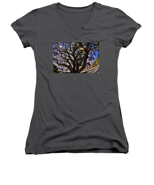 Liberty Oak Harbour Town Hilton Head Sc Women's V-Neck