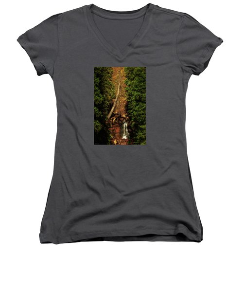 Life And Death Women's V-Neck T-Shirt (Junior Cut) by Rick Furmanek