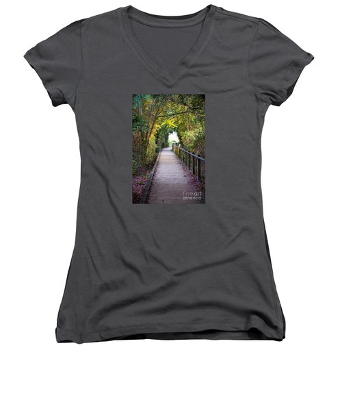 Life Beyond The Path Women's V-Neck