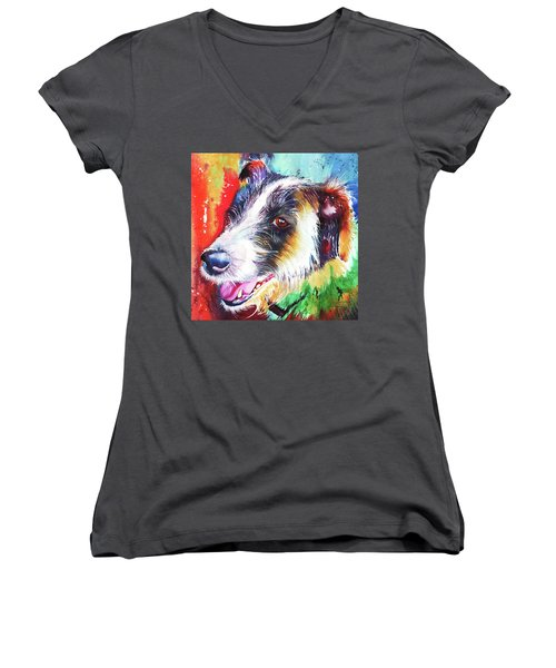 Life In The Old Dog Yet Women's V-Neck