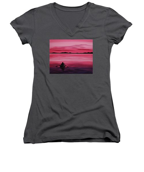 Life Is But A Dream Women's V-Neck