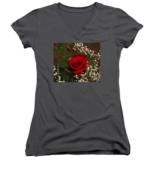 Lifting Love Higher And Higher Women's V-Neck