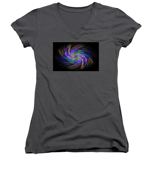 Light Abstract 2 Women's V-Neck