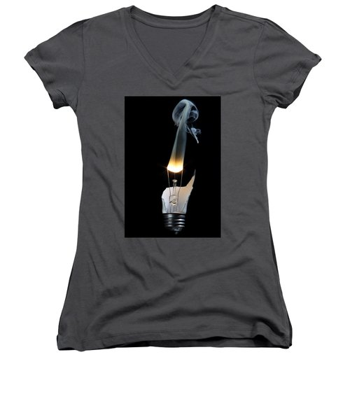 Light And Smoke Women's V-Neck