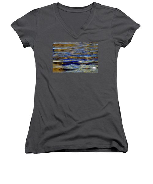 Light And Water  Women's V-Neck (Athletic Fit)