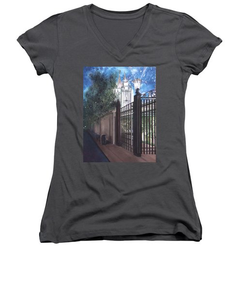 Light The World Women's V-Neck