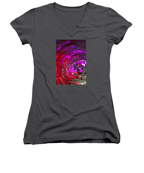 Lights Women's V-Neck T-Shirt