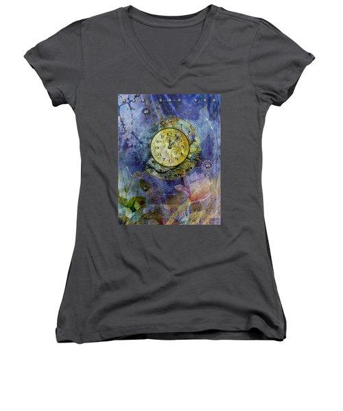 Like Clockwork Women's V-Neck T-Shirt
