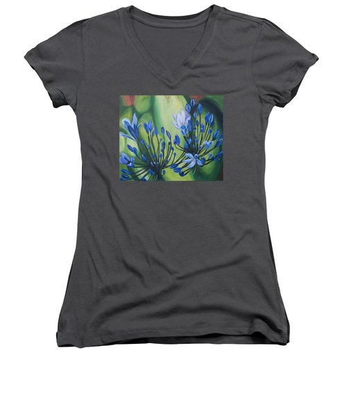 Lilly Of The Nile Women's V-Neck T-Shirt