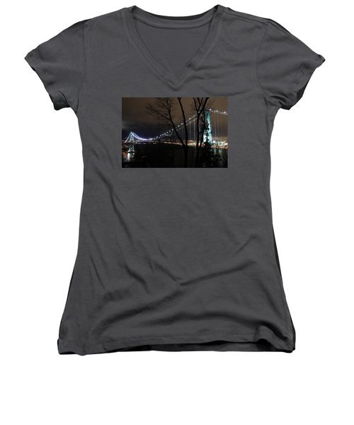 Lions Gate Bridge Women's V-Neck