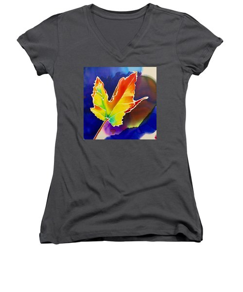 Liquid Amber Women's V-Neck