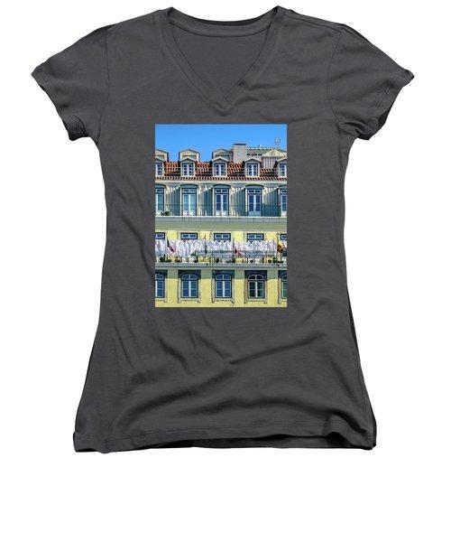 Lisbon Laundry Women's V-Neck T-Shirt