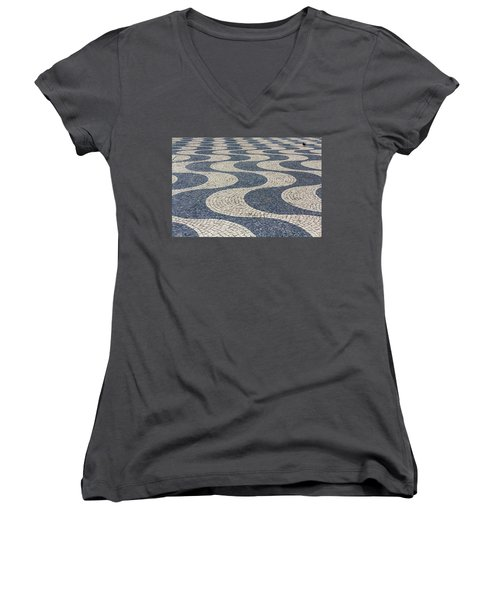 Lisbon Street Women's V-Neck T-Shirt (Junior Cut)