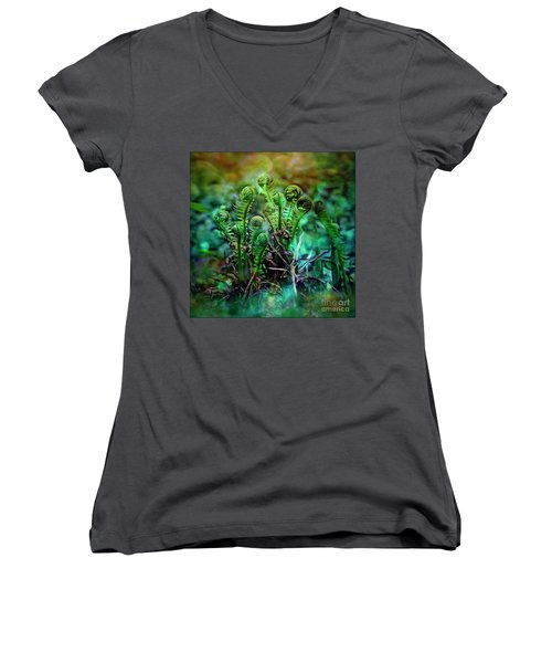 Little Planet Women's V-Neck T-Shirt