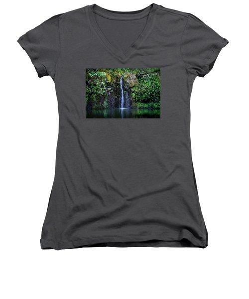 Little Waterfall Women's V-Neck
