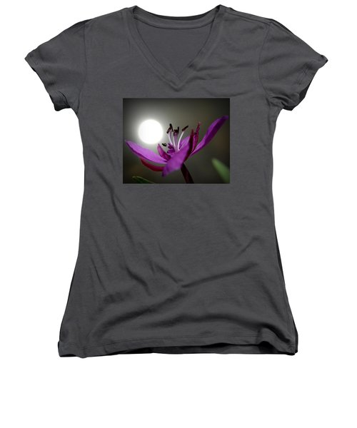 Live In The Light Women's V-Neck (Athletic Fit)