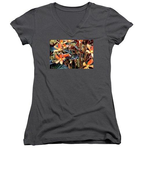 Live Tapistry Women's V-Neck T-Shirt