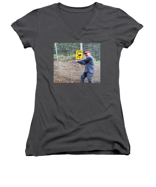 Live Wire Women's V-Neck (Athletic Fit)