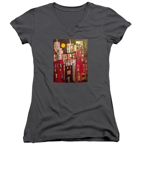 Lively City 1 Women's V-Neck