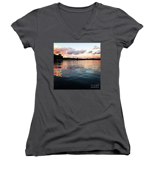 Lkn Water And Sky II Women's V-Neck T-Shirt