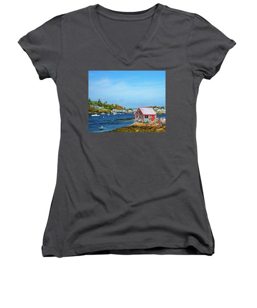 Lobstermen's Shack Women's V-Neck