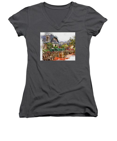 Local Grill And Scoop Women's V-Neck