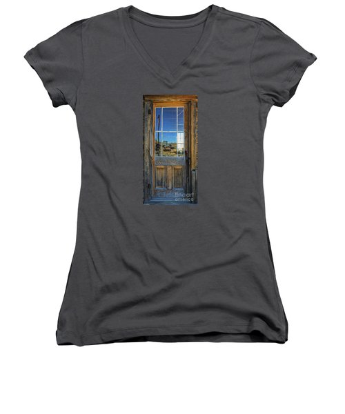 Locked Up Memories Women's V-Neck T-Shirt