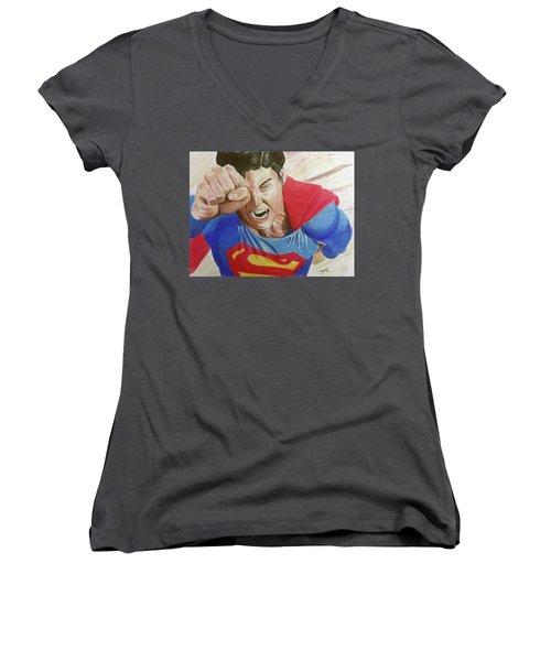Lois' Death Women's V-Neck T-Shirt