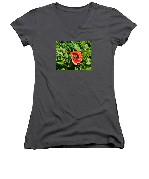 Caught My Eye Women's V-Neck T-Shirt