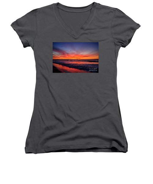 Lone Gull Women's V-Neck